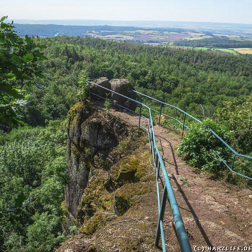 Die Bielsteinklippe bei Ilfeld