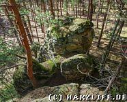 Felsklippe Kleiner Tyrstein