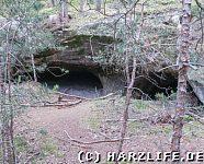 Höhle im Sandstein