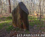 Ein Menhir im Osterholz