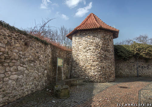 Stadtmauer in Osterode