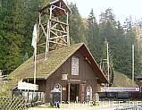 Der Eingang zum Bergbaumuseum