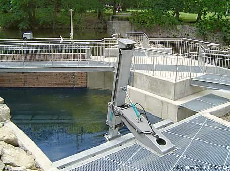 Schau-Wasserkraftwerk - Außenanlage