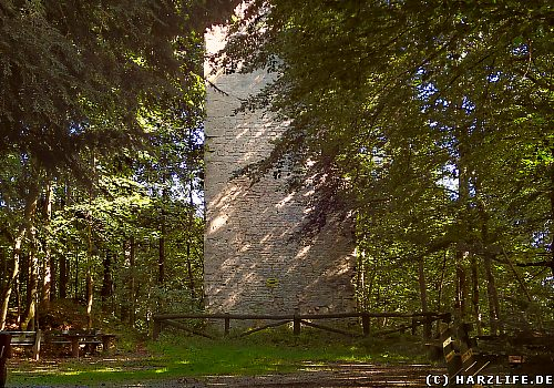 Die Burgruine Wohlenstein