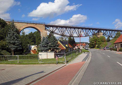 Hasselbach-Viadukt in Mansfeld