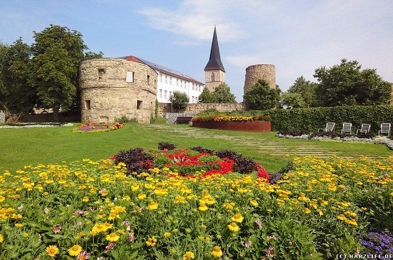 Stadtmauer mit Judenturm in Nordhausen