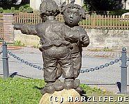 Das Max-und-Moritz-Denkmal