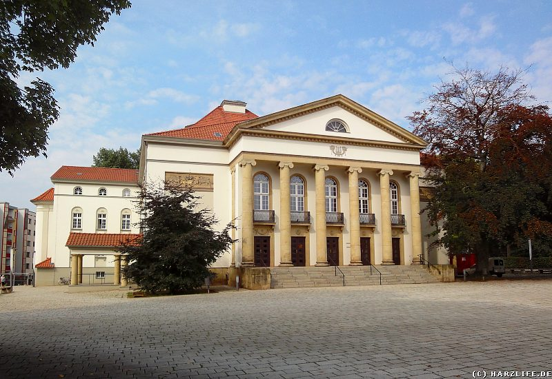 Das Theater in Nordhausen