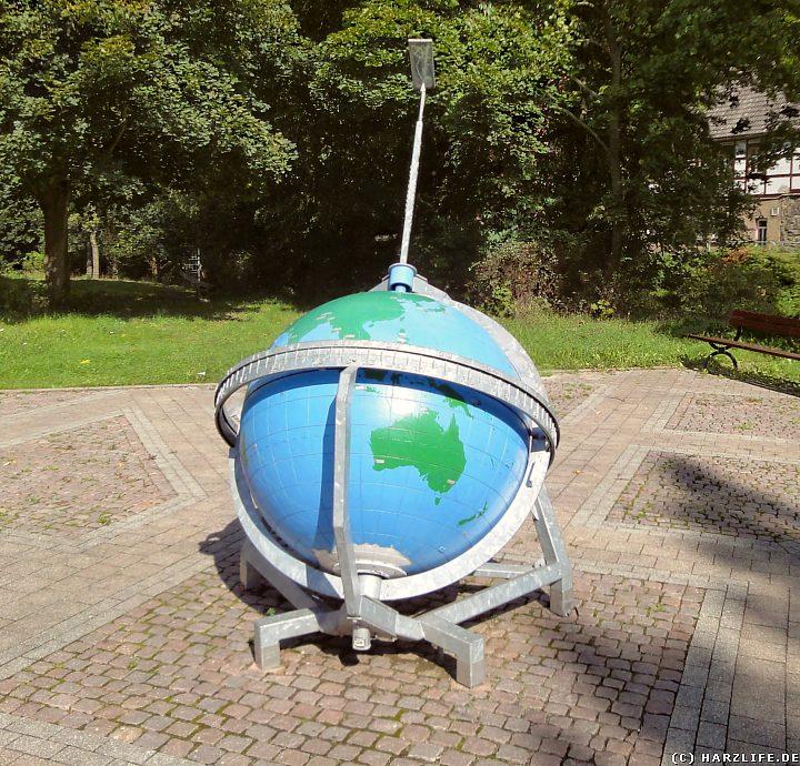 Die Weltzeit-Sonnenuhr in Wippra