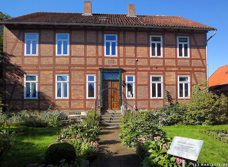 Das Wilhelm-Busch-Haus in Mechtshausen