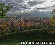 Aussicht auf Stapelburg