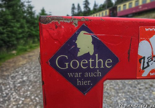 Goethe war auch hier