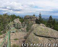 Aussicht von der Großen Zeterklippe