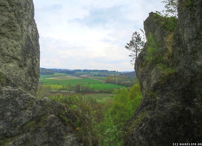 Die Aussicht vom Römerstein