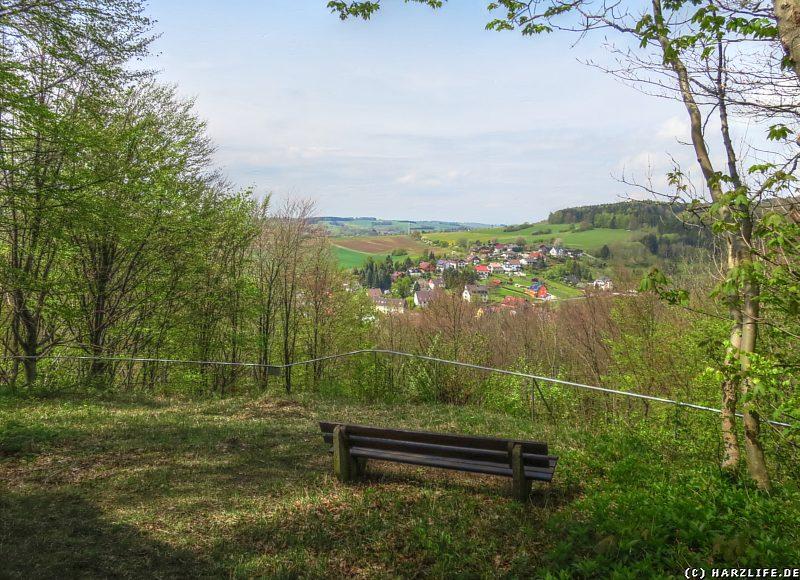 Der Aussichtspunkt auf dem Stauffenbüttel