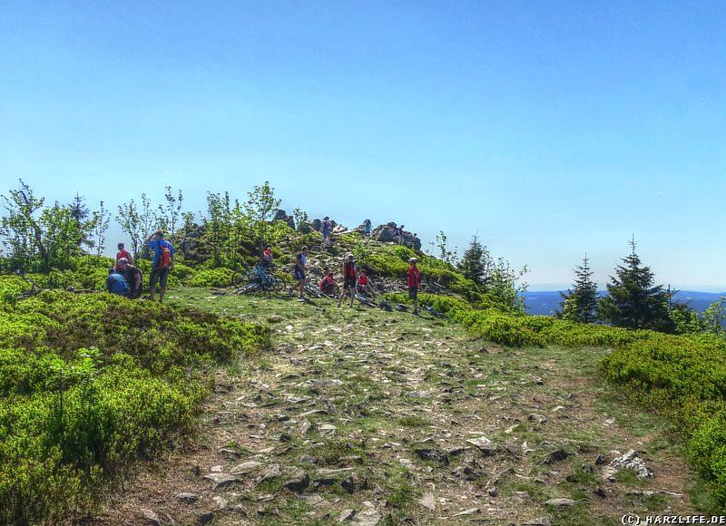 Die Wolfswarte - Wanderziel, Aussichtspunkt und Rastplatz