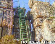 Aufstieg zur Großen Zeterklippe