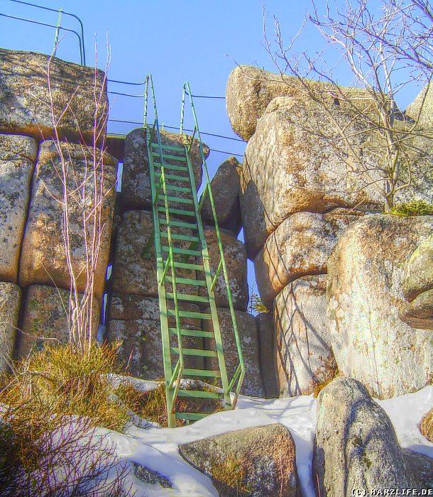 Aufstieg zur Grossen Zeterklippe