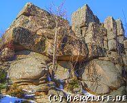 Felsen der Großen Zeterklippen