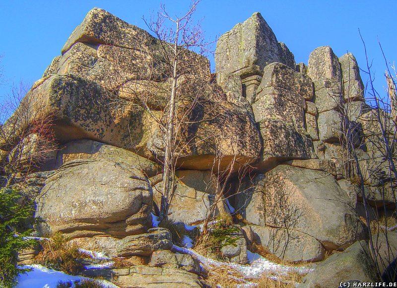 Felsen der Grossen Zeterklippen