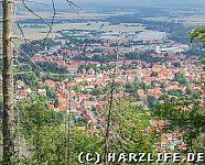 Aussicht auf Ilsenburg