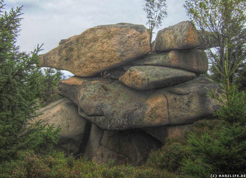 Granitformation auf dem Renneckenberg