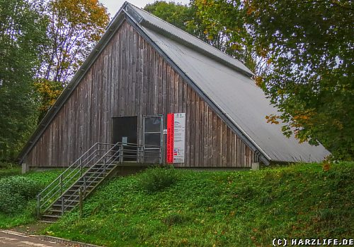 Huthaus der Radstube der Grube Thurm Rosenhof