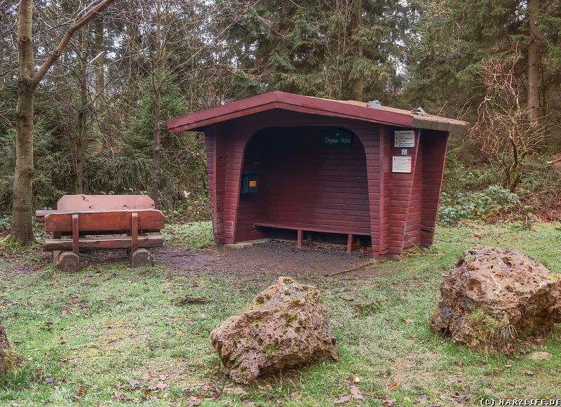 Die Stephanhütte am Ravensberg