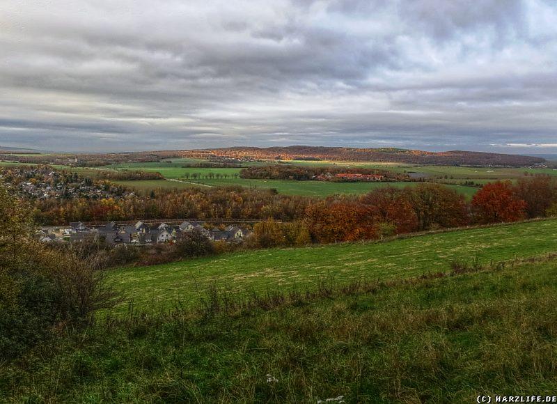 Aussicht auf das nördliche Harzvorland