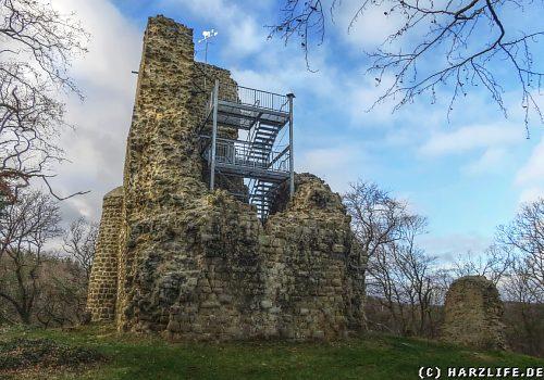 Die Burgruine Lauenburg