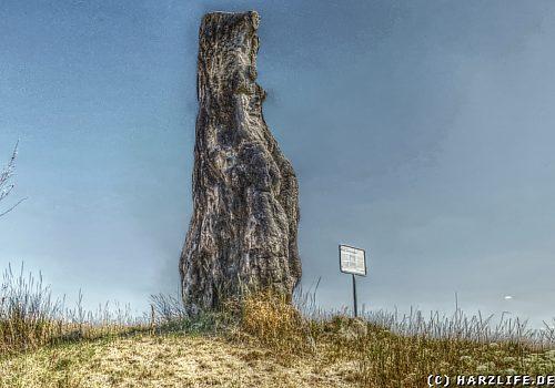 Die steinerne Jungfrau von Dölau