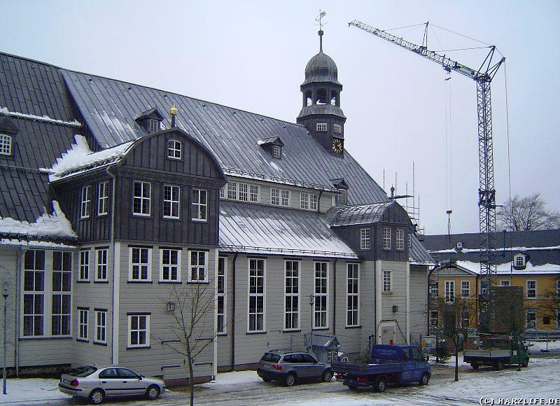 Die Sanierung der Clausthaler Marktkirche Zum Heiligen Geist