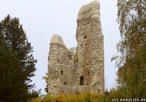 Alte Burg in Osterode - Der Bergfried