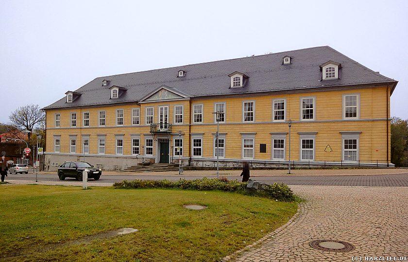 Das Amtshaus des Bergamtes Clausthal