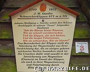 Schnarcherklippen in Goethes Faust