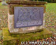 Der Gedenkstein für die Heimatvertriebenen