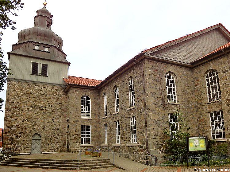 Die evangelisch-lutherische Nicolaikirche in Herzberg