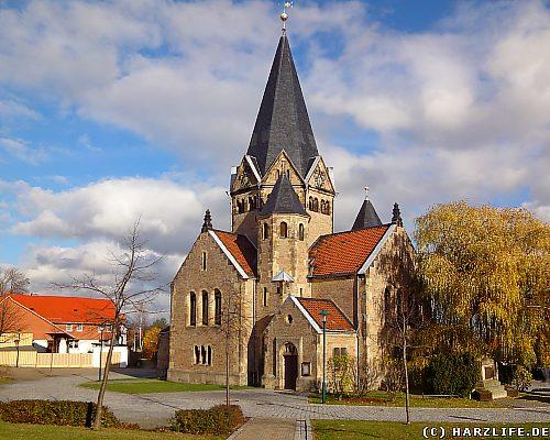 Die Kirche in Benzingerode