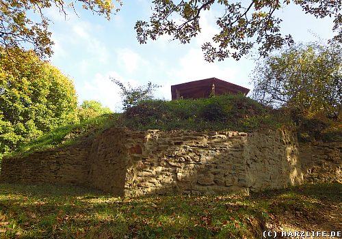Die Ruine der Luisenburg bei Blankenburg