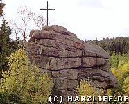 Gipfelkreuz auf der Schnarcherklippe