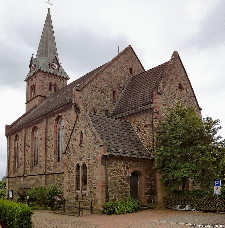 Die Pfarrkirche St. Josef in Herzberg