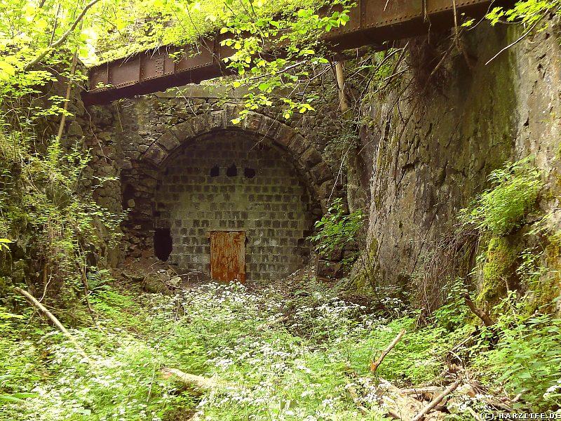 Das Nordportal des Bismarcktunnels