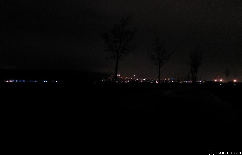 Blankenburg bei Nacht