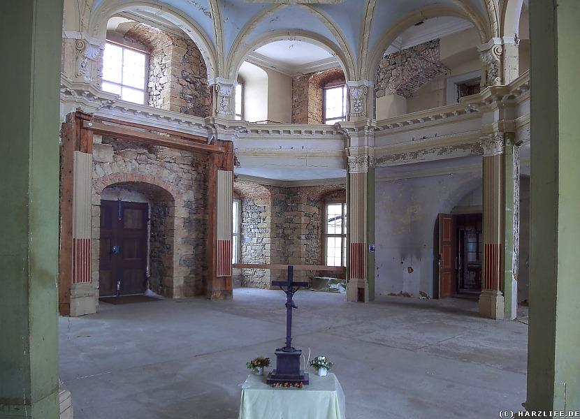 Großes Schloß Blankenburg - In der Schloßkapelle