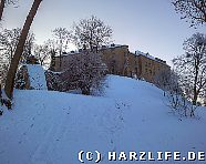 Blankenburg - Grosses Schloss im Winter