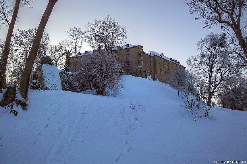 Das Große Schloß im Winter