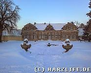 Blankenburg - Kleines Schloss im Winter