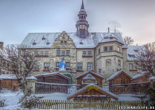 Das historische Rathaus in Blankenburg