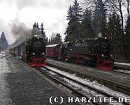 Dampfloks in Drei Annen Hohne
