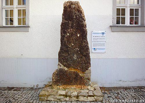 Der Nagelstein in Ermsleben